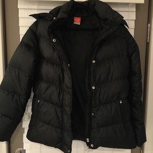 Nike Down Puffy Coat ZIP off hood